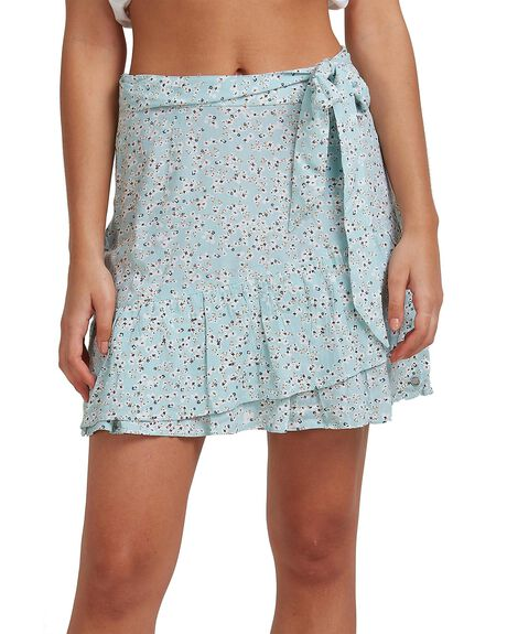 STRATOSPHERE DITSY WOMENS CLOTHING ROXY SKIRTS - URJWK03013-BFL8