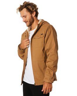 TOBACCO MENS CLOTHING SANTA CRUZ JACKETS - SC-MJA9134TOBAC