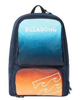 NAVY ORANGE MENS ACCESSORIES BILLABONG BAGS + BACKPACKS - 9695009BNVYOR