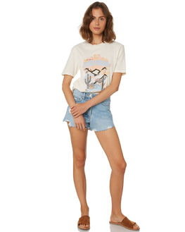 EGGNOG WOMENS CLOTHING AFENDS TEES - W184005EGG