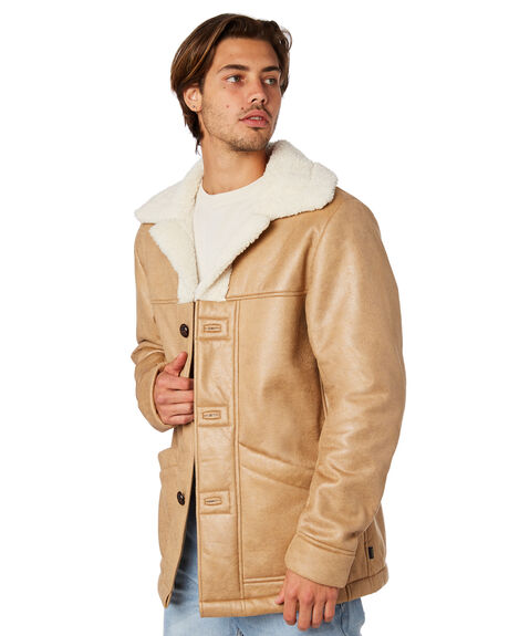 BISCUIT MENS CLOTHING THE CRITICAL SLIDE SOCIETY JACKETS - JK1813BSCT
