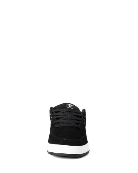 BLACK WHITE MENS FOOTWEAR FALLEN SNEAKERS - FMG1ZA135NBL99