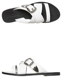 WHITE WOMENS FOOTWEAR SOL SANA FASHION SANDALS - SS181W418WHT