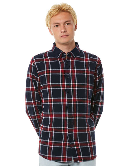 RED NAVY OUTLET MENS HUFFER SHIRTS - MSH81S401RED