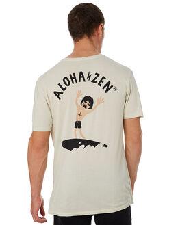 NATURAL MENS CLOTHING ALOHA ZEN TEES - AZ940NAT