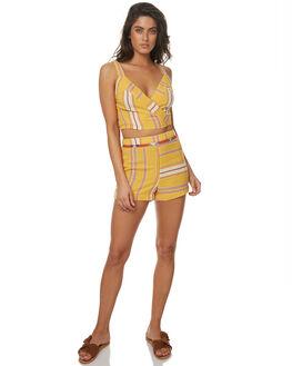 MARIGOLD WOMENS CLOTHING TIGERLILY FASHION TOPS - T372036MARI