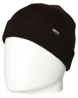 BLACK MENS ACCESSORIES RUSTY HEADWEAR - HBM0382BLK