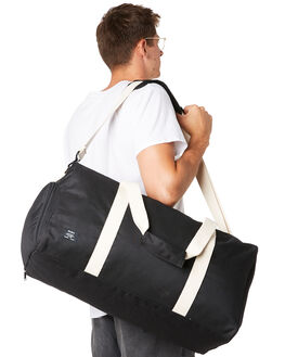 BLACK NATURAL MENS ACCESSORIES AS COLOUR BAGS + BACKPACKS - 1009BLKNL