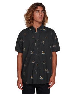 BLACK MENS CLOTHING BILLABONG SHIRTS - BB-9591210-BLK