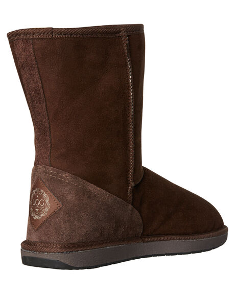 CHOCOLATE WOMENS FOOTWEAR UGG AUSTRALIA BOOTS - SSTID34CHOCW