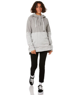 LIGHT GREY WOMENS CLOTHING VOLCOM JUMPERS - B3111977LGR