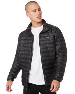 BLACK MENS CLOTHING PATAGONIA JACKETS - 84674BLK