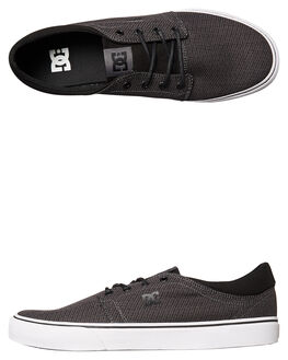 BLACK DK SHADOW MENS FOOTWEAR DC SHOES SNEAKERS - ADYS300123BDH