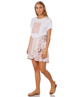 ASH ROSE STRIPE OUTLET WOMENS ELWOOD SKIRTS - W946016KH