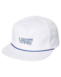 WHITE MENS ACCESSORIES VANS HEADWEAR - VNA36Z2WHTWHT