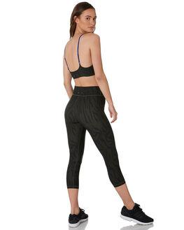KHAKI BLACK WOMENS CLOTHING THE UPSIDE ACTIVEWEAR - USW319047KHKBK