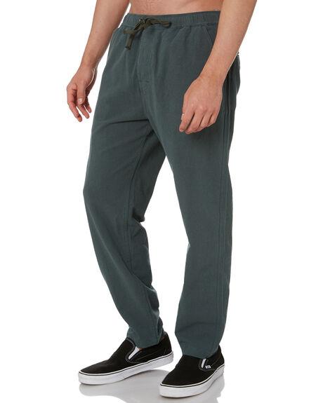HEMP GREEN MENS CLOTHING DEPACTUS PANTS - D5211191HMPGN