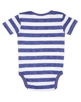 NAVY WHITE STRIPE KIDS BABY WALNUT CLOTHING - SP19WRNONESNVWHT