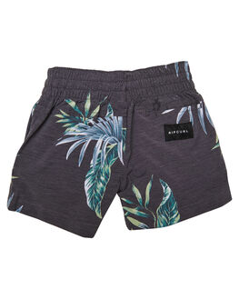 BLACK GREEN KIDS BOYS RIP CURL BOARDSHORTS - OBOSM14023