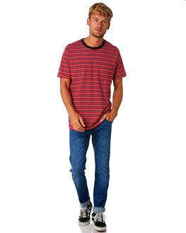 RED STRIPE MENS CLOTHING WRANGLER TEES - 901501KM2