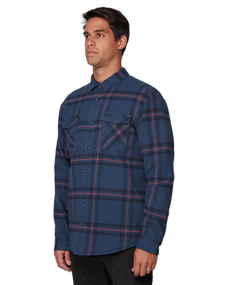 NAVY MENS CLOTHING RVCA SHIRTS - RV-R307181-N10