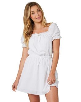 WHITE WOMENS CLOTHING MINKPINK DRESSES - MP17X1451WHITE
