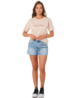 NUDE WOMENS CLOTHING COOLS CLUB TEES - 101-CW3NUD