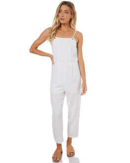 WHITE WOMENS CLOTHING BILLABONG PLAYSUITS + OVERALLS - 6572506WHI