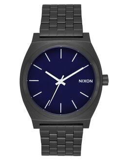 ALL BLACK DARK BLUE MENS ACCESSORIES NIXON WATCHES - A045-2668-BLKBL