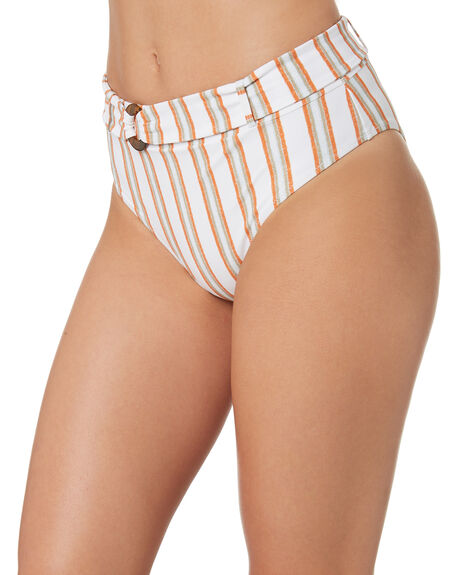 STRIPE OUTLET WOMENS TIGERLILY BIKINI BOTTOMS - T382671STR