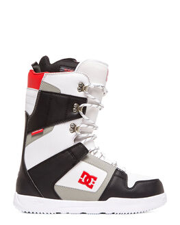 BLACK/WHITE BOARDSPORTS SNOW DC SHOES BOOTS + FOOTWEAR - ADYO200041-BKW