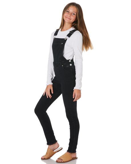 BLACK KIDS GIRLS EVES SISTER DRESSES + PLAYSUITS - 9531026BLK