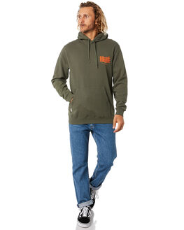 DARK OLIVE MENS CLOTHING RIP CURL JUMPERS - CFECP99389