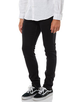 DEEP BLACK MENS CLOTHING CHEAP MONDAY JEANS - 0395334DBLK