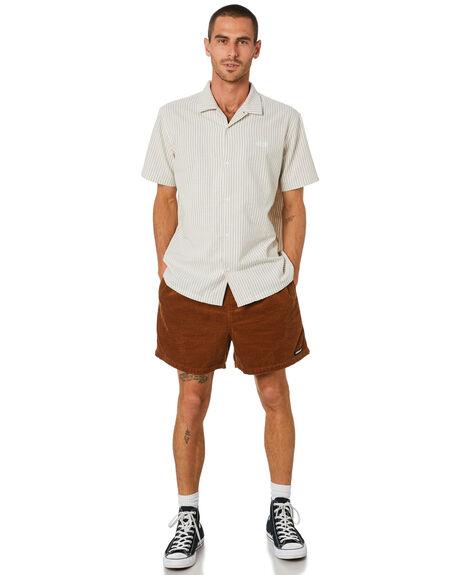 STRIPE MENS CLOTHING STUSSY SHIRTS - ST002409STP