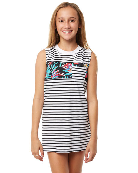 e0fc98c357 Rip Curl Girls Breaker Tank Dress - Teens - White