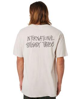 WHITE SAND MENS CLOTHING STUSSY TEES - ST083002WHTSD