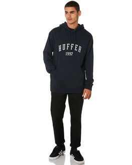 INDIGO MENS CLOTHING HUFFER JUMPERS - MHD91S30.342INDGO