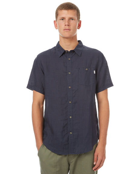NAVY MENS CLOTHING RHYTHM SHIRTS - OCT17M-WT03-NAV