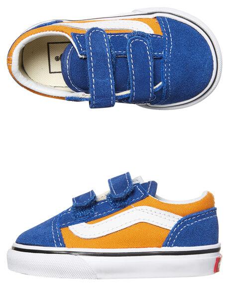 OG BLUE GOLD KIDS TODDLER BOYS VANS FOOTWEAR - VNA344KQ1BORG