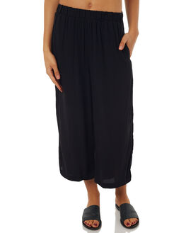 BLACK WOMENS CLOTHING ALL ABOUT EVE PANTS - 6403117BLK