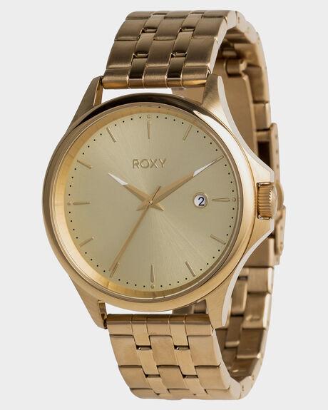 FULL SHINY GOLD WOMENS ACCESSORIES ROXY WATCHES - ERJWA03023YHM0