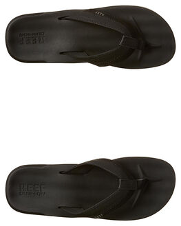 BLACK MENS FOOTWEAR REEF THONGS - A2YFXBLA
