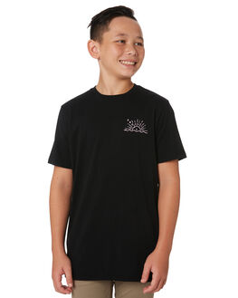 BLACK KIDS BOYS SWELL TOPS - S32011005BLACK