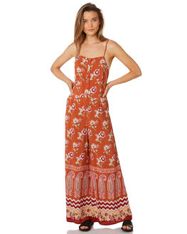 RUST OUTLET WOMENS TIGERLILY PLAYSUITS + OVERALLS - T395437RUS