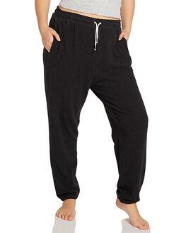 BLACK WOMENS CLOTHING VOLCOM PANTS - CB1111801BLK