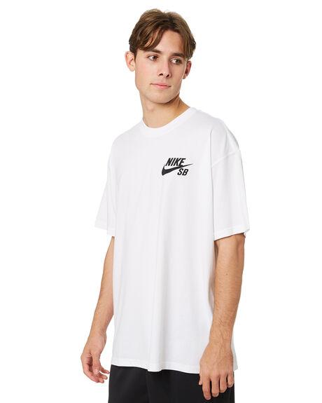 WHITE MENS CLOTHING NIKE TEES - DC7817100