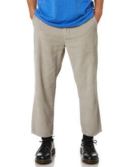 GREY CORD MENS CLOTHING MISFIT PANTS - MT081611GRYC