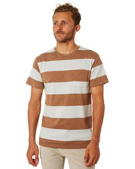 LIGHT BROWN MENS CLOTHING KATIN TEES - KNSMS02LBRN
