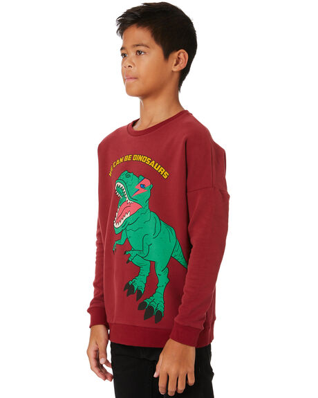 RED KIDS BOYS ROCK YOUR KID JUMPERS + JACKETS - TBH2025-WE-RD